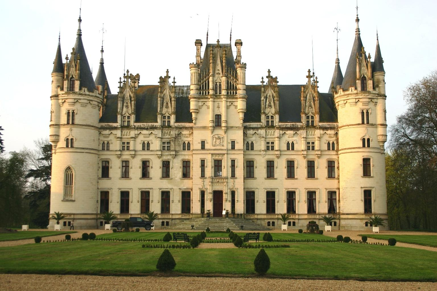 Chateau Challain is in the