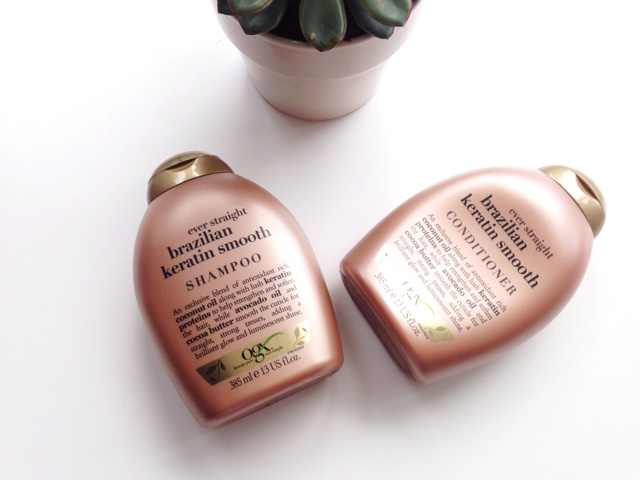 OGX Brazillian Keratin Shampoo & Conditioner Review