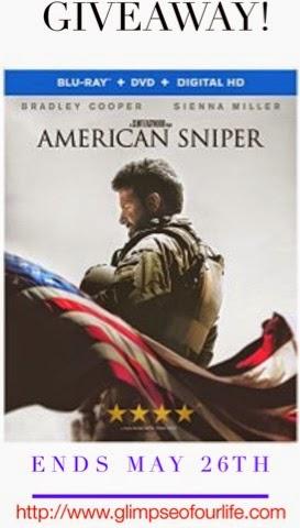 Blu Ray DVD American Sniper