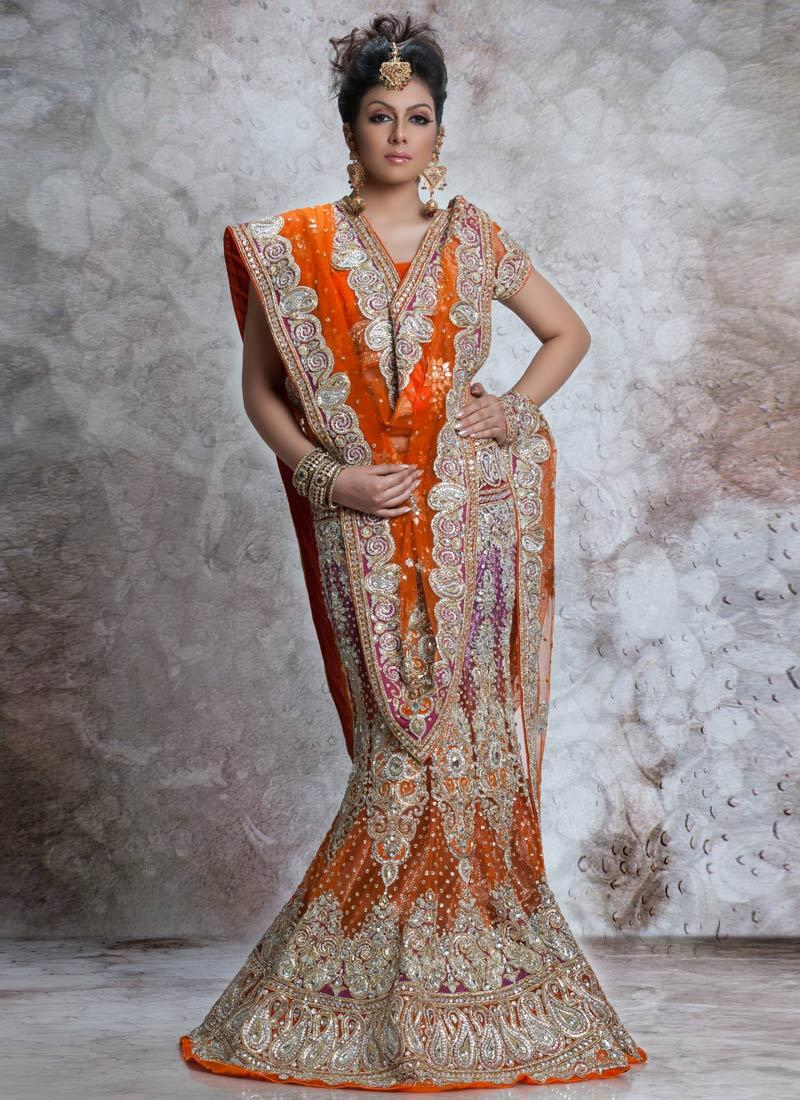 Indian wedding attire for