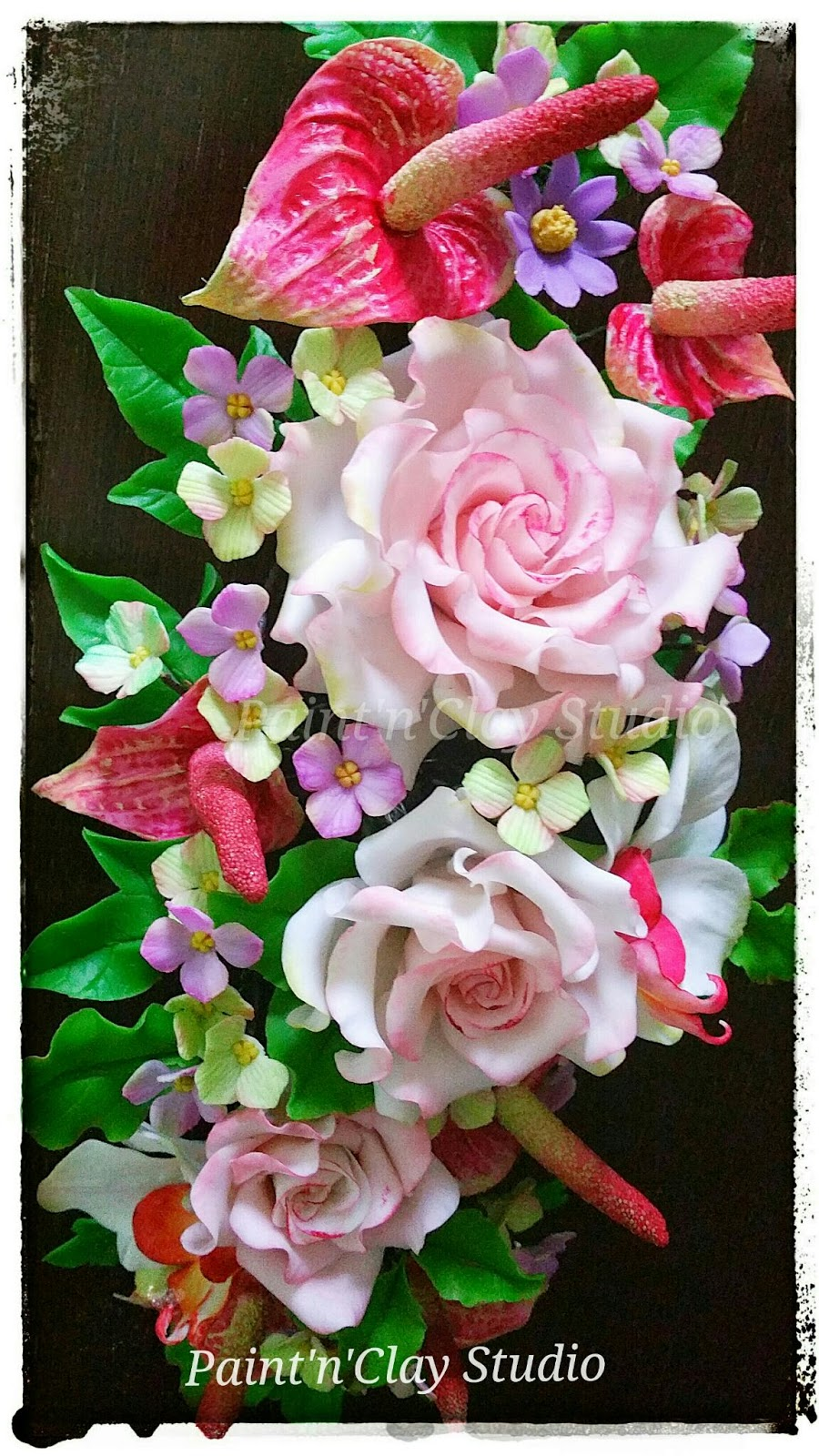 Paintnclay studio the clay florist learn thai clay flower in mumbai izmirmasajfo Images