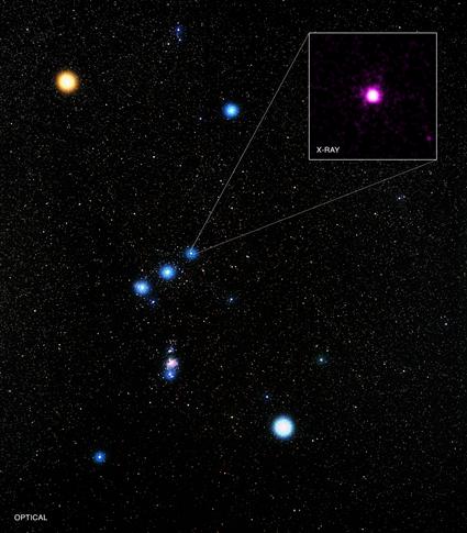 sistema estelar Delta Orionis