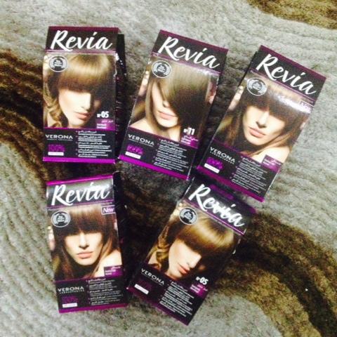 Revia Hair Color Review