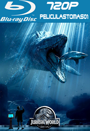 Mundo Jurásico (Jurassic World) (2015) [BRRip 720p/Dual Latino-ingles]
