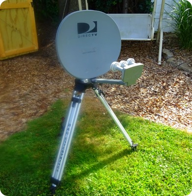 satellite tripod