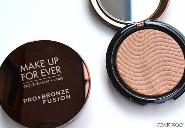 MAKE UP FOR EVER Pro Bronze Fusion in Shades 10M & 15I Review and Swatches (1)