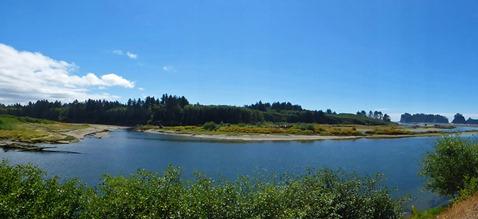 Quillayute River, looking toward La Push