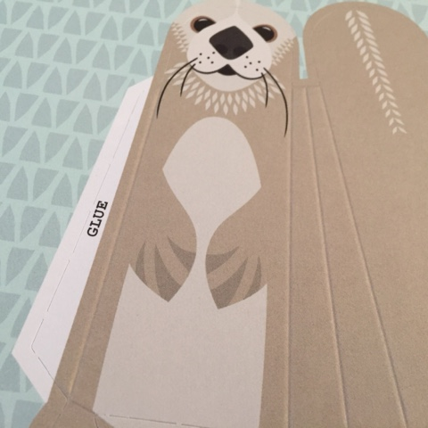 mibo animal pop out book