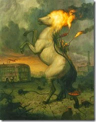 10-The Sacrifice, 64 x 50 in, Oil on canvas, 2011 2