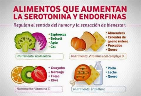 Correcaminos alimentos que aumentan la serotonina y las endorfinas - Alimentos que bajen la tension ...