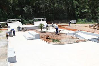 Skatepark será inaugurado hoje, 17/12, com show de RAP