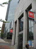 The front of the CMT music station in Nashville TN 09042011