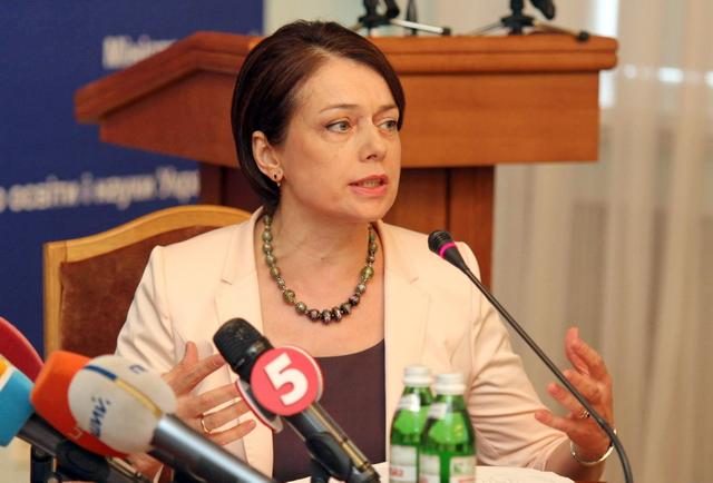 Лілія Гриневич зняла з розгляду проект наказу про профільність вишів