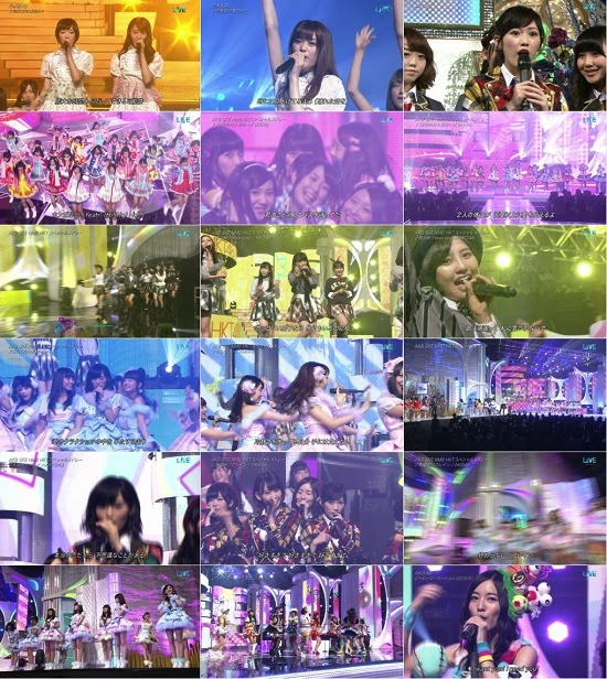(TV-Music)(1080i) AKB48G Nogizaka46 part – ベストアーティスト2014 141126