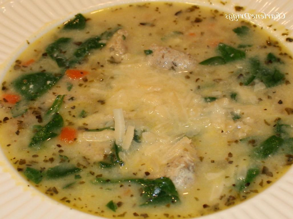This Italian Wedding Soup is easy and one of our favorites.