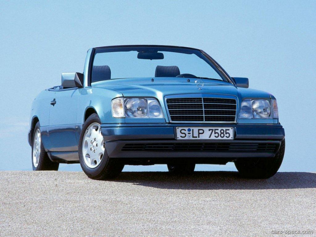 1995 mercedes benz e class convertible specifications for 1995 mercedes benz e320