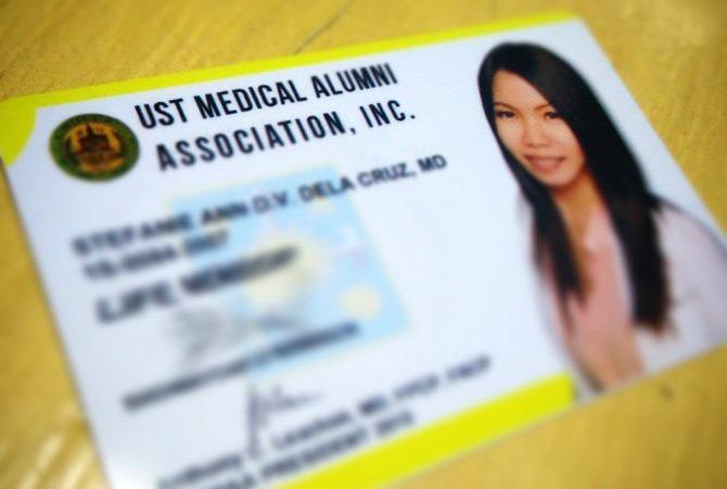 USTMAA card