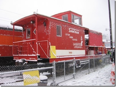 IMG_4785 SamTrak Caboose #900 at Oaks Park in Portland, Oregon on December 14, 2008