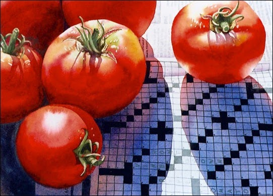 Tomatoes on Crossword: Carolyn Watson