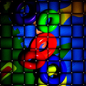 Multi Color Circle by Rony Nofrianto - Artistic Objects Toys ( child toys, circlet, toys, circle, multi color circle )