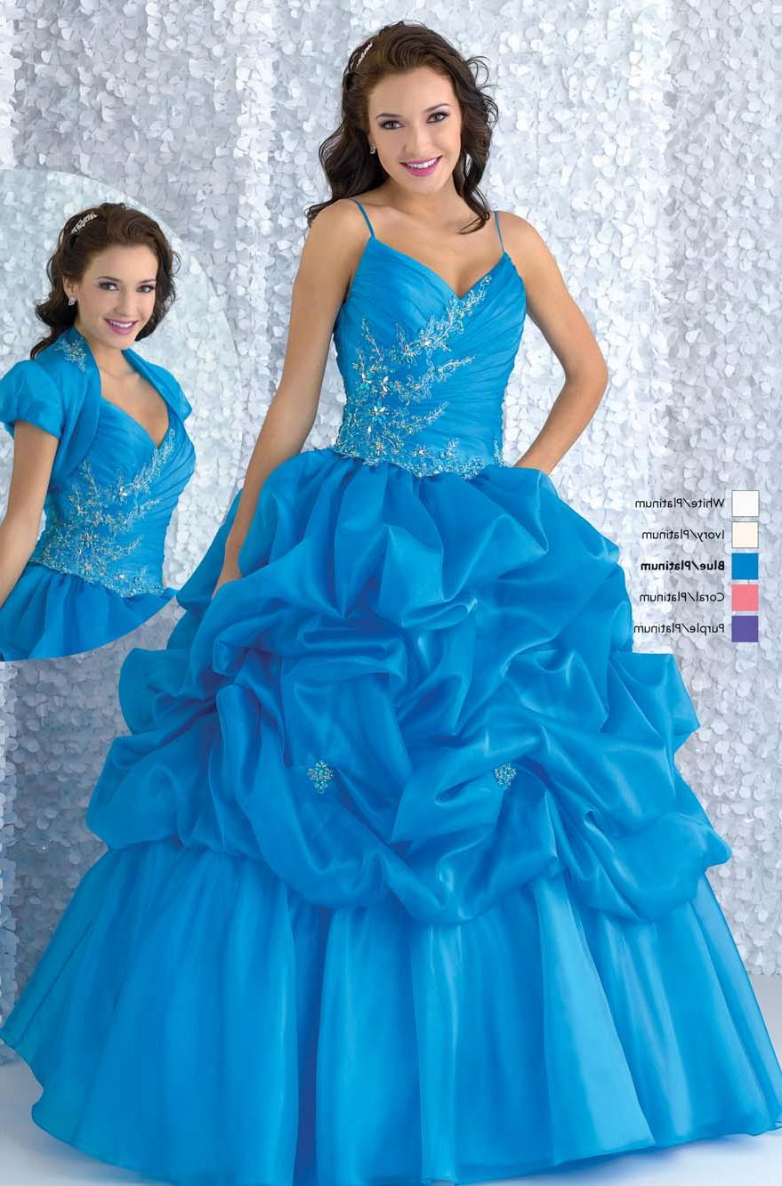 Wonderful ball gown V-neck flo