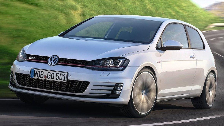 2014 Volkswagen Golf GTI'nin Üretim Versiyonu Cenevre'de Tanıtılıyor
