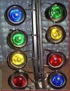 Semaforo 4 Luces.