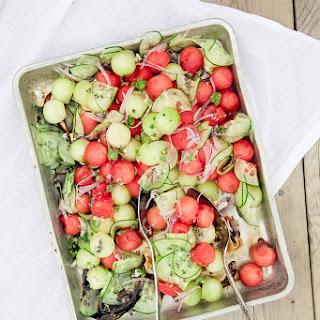 Melon Salad Balsamic Recipes