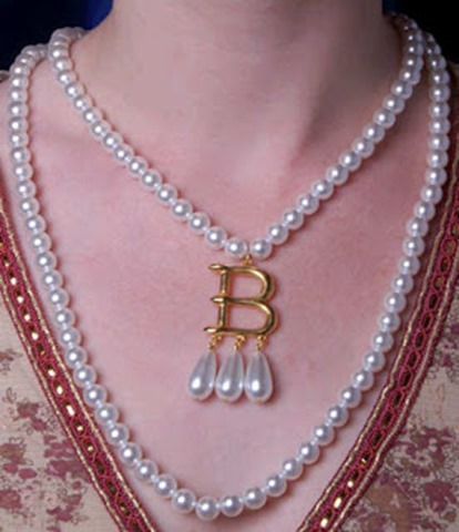 Anne Boleyn B Necklace Combo from theanneboleynfiles