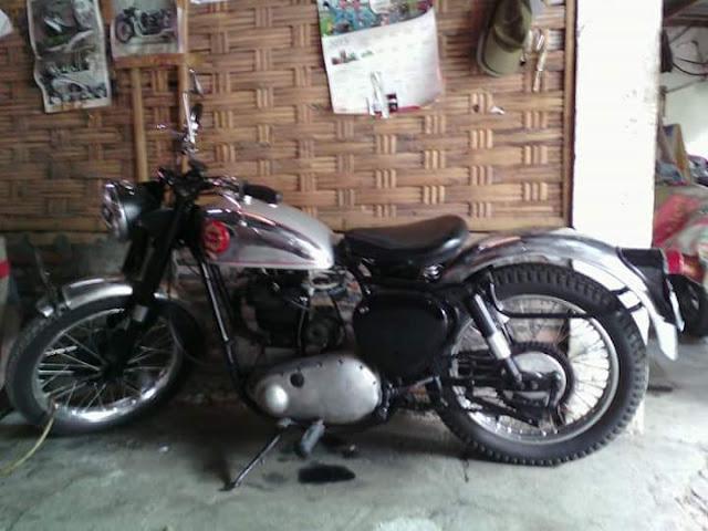 motor tua BSA B33