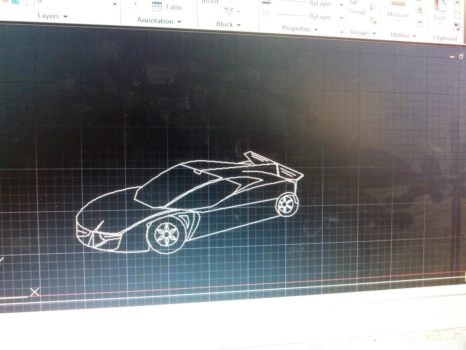 Design Car In Autocad Premium Thoughts