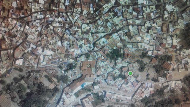 widok medyny w Google Maps
