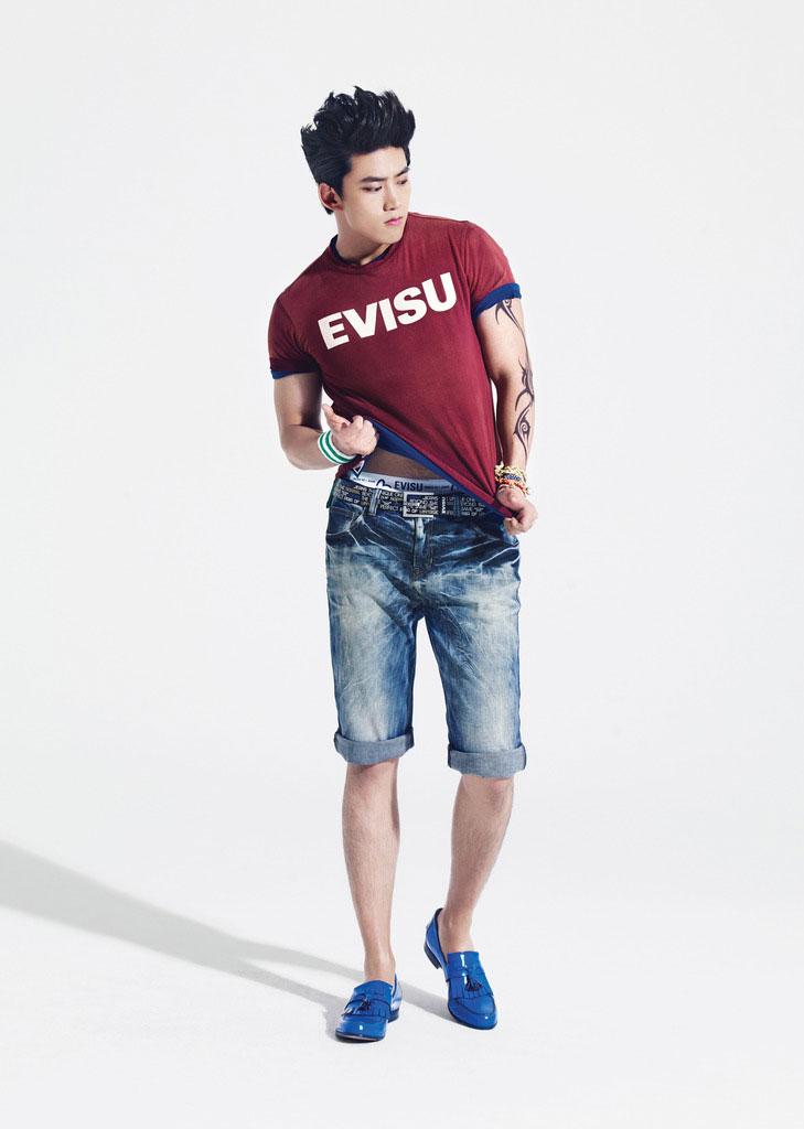 11 cach phoi jeans sanh dieu cho chang  6