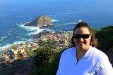 Natalie Overlooking Porto Moniz - Funchal, Madeira