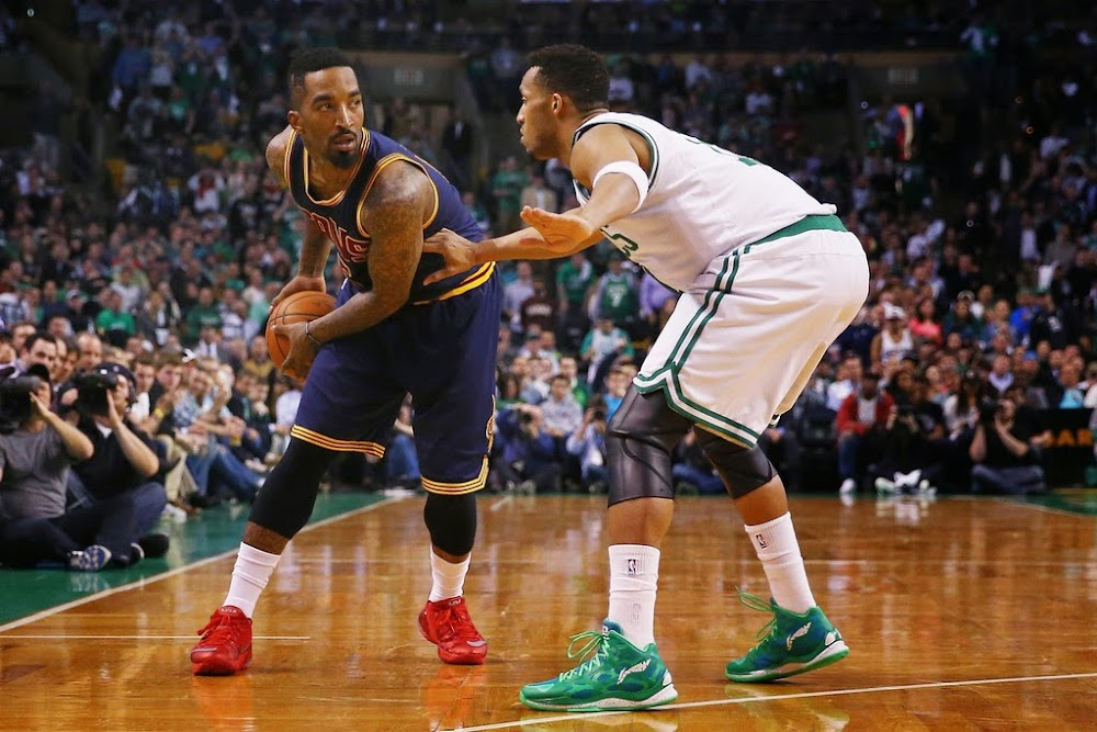 0e7c9b1f968 ... best jr smith is shooting the lights out in nike lebron 12 lowtops  37132 6a2fc