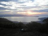 Sunrise on Gunung Salahutu's lesser peak (Daniel Quinn, December 2010)