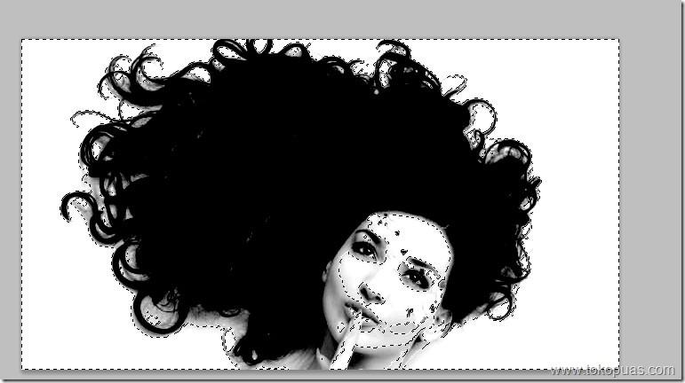 tutorial memotong gambar rambut keriting adobe photoshop tutorial
