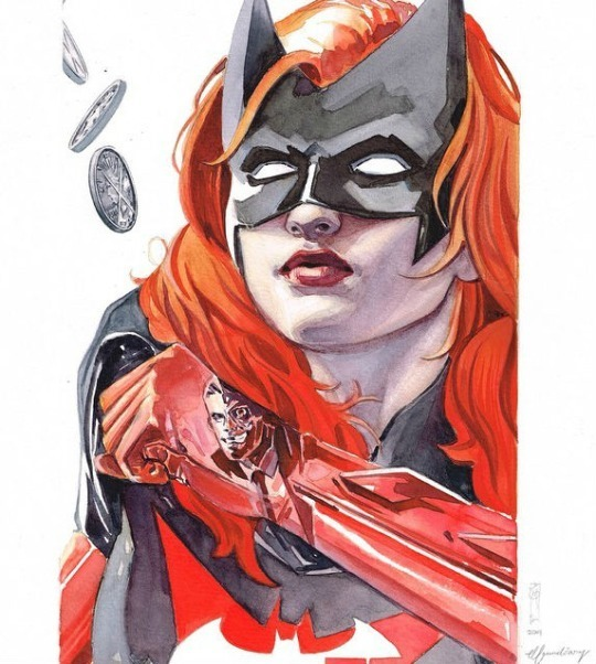 The Encounters Series - Batgirl1 by Garrie Gastonny and Elfandiary