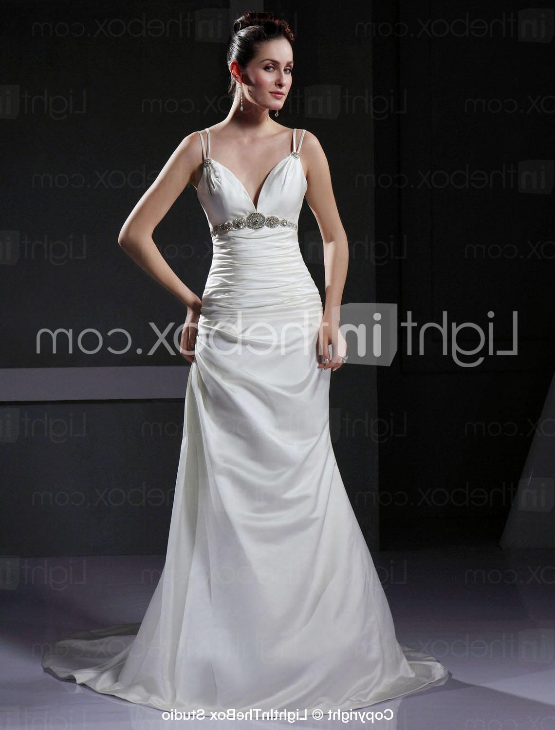 Wedding Dress with Crystal