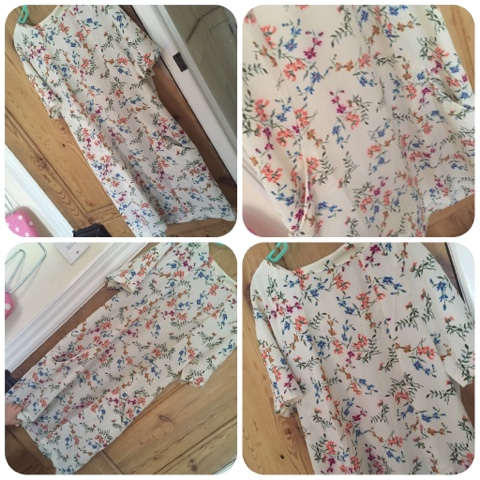 everything for £5 floral dress