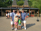 Jeff, Hannah, Bryan and Mary and Gary Mascelli at the Nashville Zoo 09032011