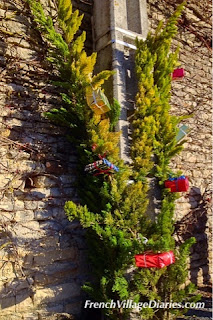 French Village Diaries advent Christmas trees