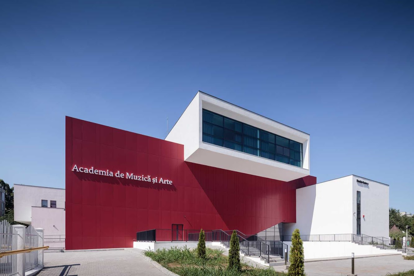 Bucarest, Romania: Academy of Music And Arts by Ltfb Studio