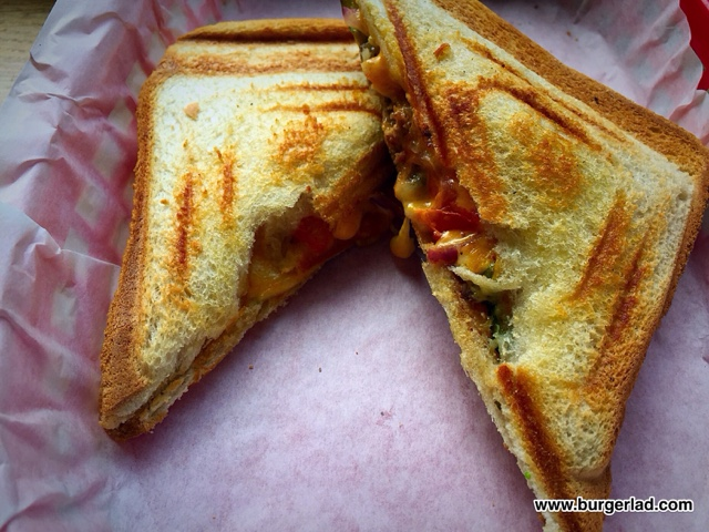 Home Sweet Home Cheeseburger Toastie