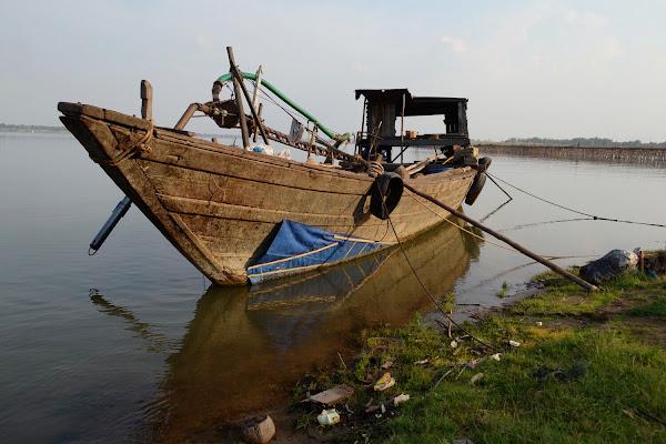 меконг лодка река камбоджа
