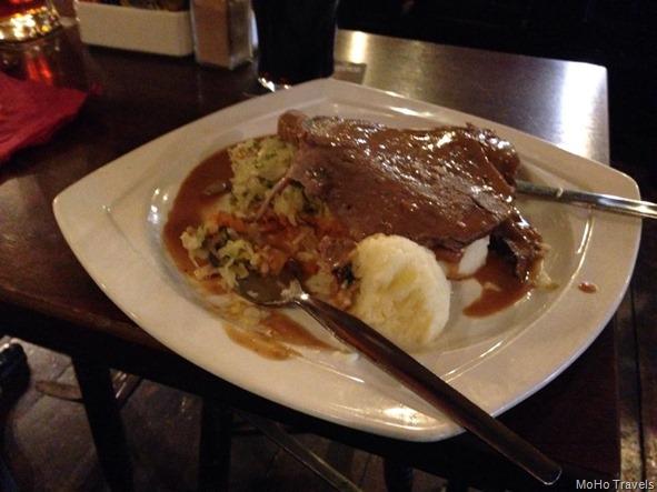 pub food at Osheas