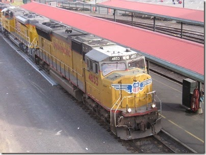 IMG_6678 Union Pacific SD70M #4853 at Union Station in Portland, Oregon on May 27, 2007