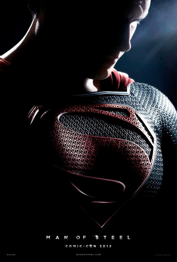 """SuperMan Man Of Steel"" Preview Teaser Poster"