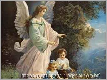 anjo guarda tradição