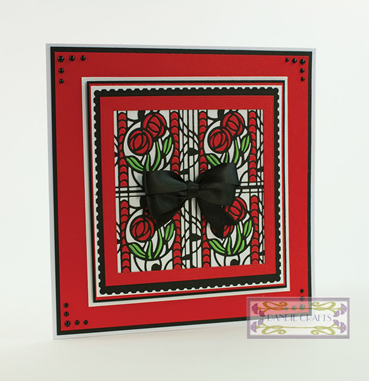 Patchwork Perfection Inlay Card Sep15